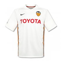 2006-2007 Valencia Home Retro Jersey Shirt