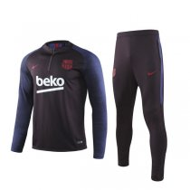 19-20 Barcelona Purplish Red Training Suit