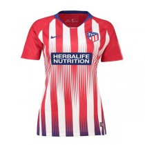1819 Atletico Madrid Home Women Soccer Jersey