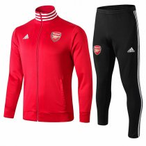 19-20 Arsenal All Red High Neck Jacket Kit