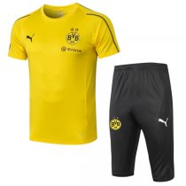 1819 Borussia Dortmund Yellow Short Training Tracksuit